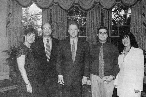 Famille-Lewinsky-Bill-Clinton