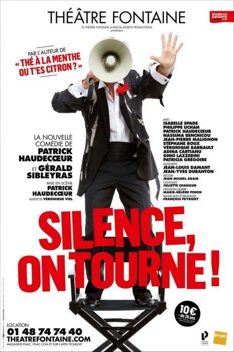 """L'affiche de """"Silence on tourne"""""""