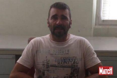 Francisco Benitez dans la vidéo qu'il a confiée à notre journaliste, Pauline Lallement.