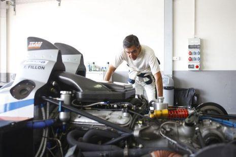 Match avait suivi François Fillon sur le circuit du Castellet en août 2013.
