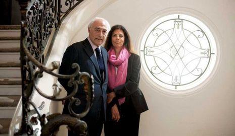 Françoise Bettencourt et Jean-Pierre Meyers-NE PAS REUTILISER-
