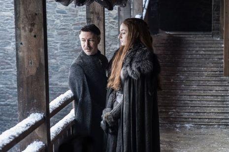 Sansa Stark et Littlefinger.