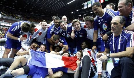 handball équipe de France-