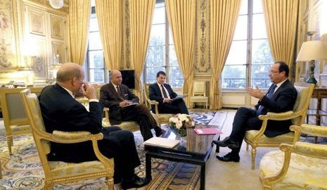 Hollande Valls Fabius-