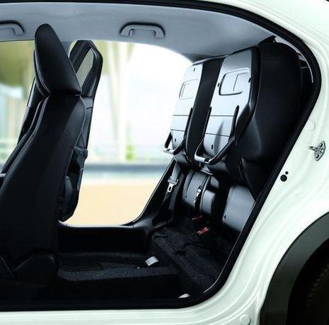 Honda Civic sièges magiques-