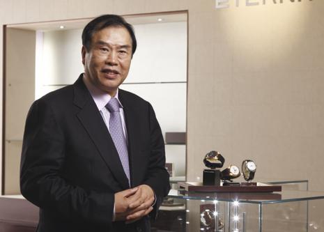 L'homme d'affaires et financier chinois Kwoh Lung Hon.