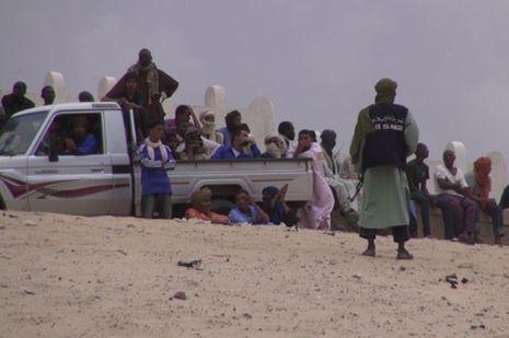 Scènes de Combattants jihadistes à Tombouctou