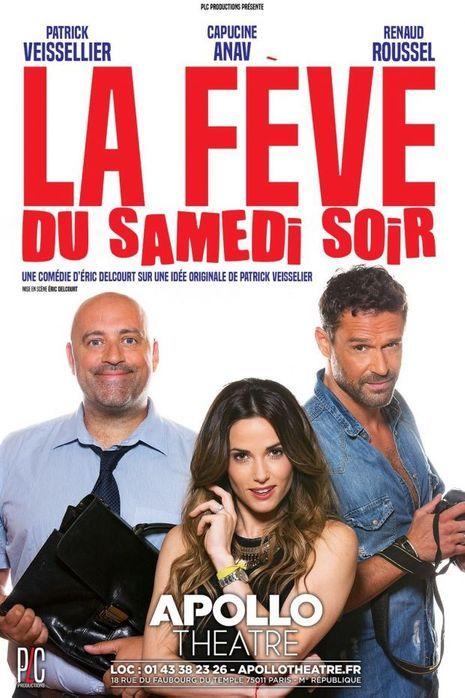 """L'affiche de """"La fève du samedi soir"""""""