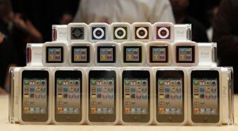 Ipod Shuffle Nano Touch 2010 (Mauvais format)-