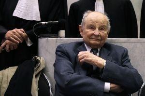 """Jacques Servier le 21 mai dernier, au premier jour du procès pour """"tromperie aggravée""""."""