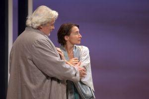 """Jacques Weber et Anne Brochet dans """"La Dame de la mer"""""""
