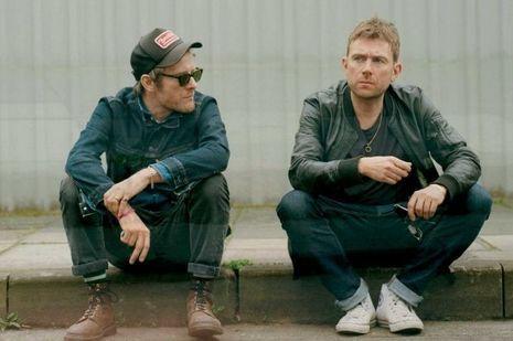 Jamie Hewlet et Damon Albarn.