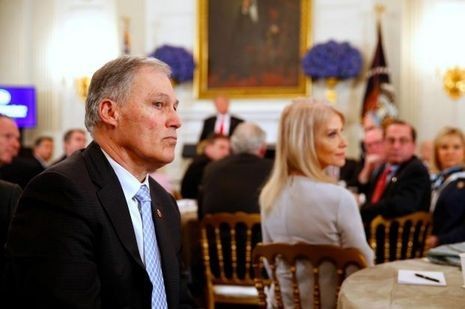 Jay Inslee à la Maison-Blanche, le 26 février 2018.
