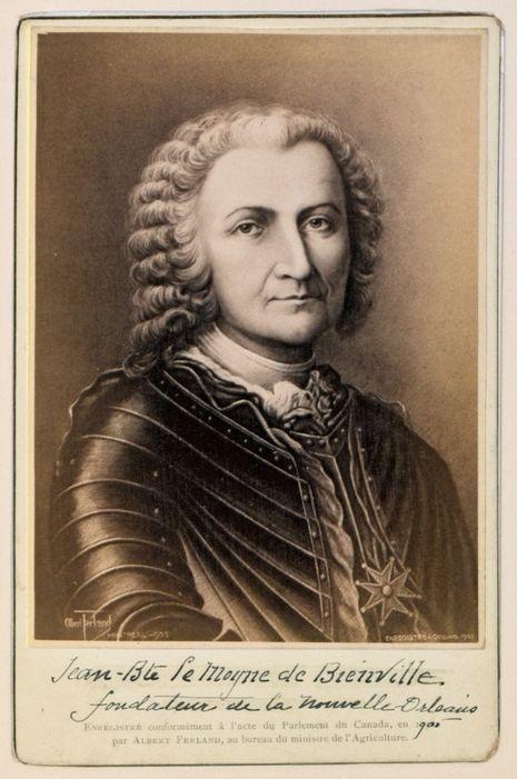 Jean-Baptiste Le Moyne de Bienville, fondateur de La Nouvelle-Orléans.