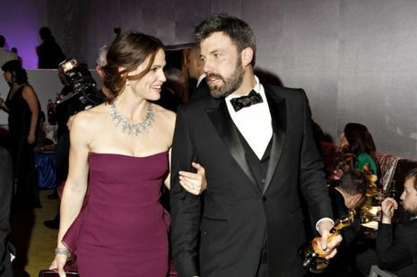 Jennifer Garner et Ben Affleck, lors des Oscars, en février 2013.