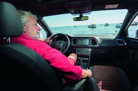 Joël Dupuch au volant de la Seat Ateca 2.0 TDI Style