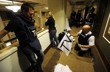 journalistes rixos tripoli-