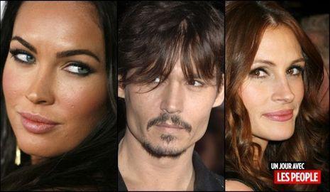 JP 02 07 2010 Megan Fox, Johnny Depp, Julia Roberts-
