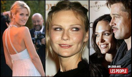 JP 08 09 2010 Heidi Klum, Kirsten Dunst, Angelina Jolie et Brad Pitt-