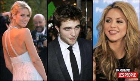 JP 15022010 Heidi Klum Robert Pattinson Shakira-