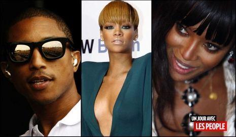 JP 22 04 2010 Pharrell Williams Rihanna Naomi Campbell-
