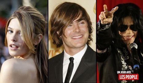 JP 250610 Ashley Greene zac Efron et Michael Jackson-