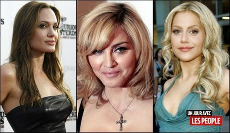 JP 26022010 Angelina Jolie Madonna Brittany Murphy-