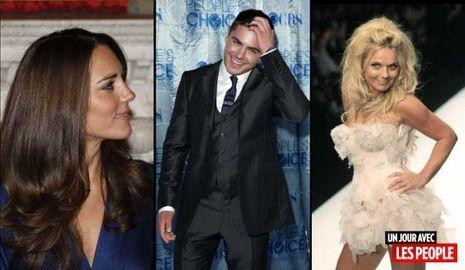 jp 280111 Kate Middleton, Zac Efron et Geri Halliwell-