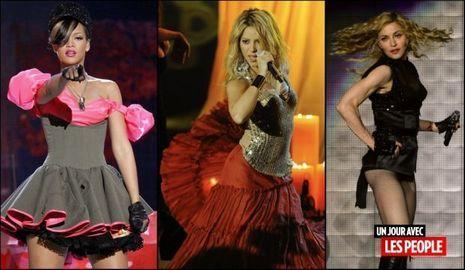JP 30 03 2010 Rihanna Shakira Madonna-