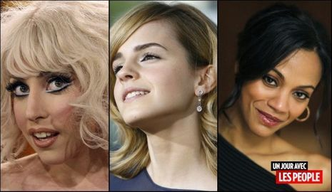 JP 30 06 2010 Lady GaGa, Emma Watson, Zoë Saldana -