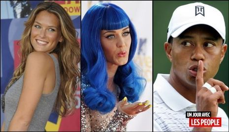 JP 31 08 2010 Katy Perry, Tiger Woods et Bar Refaeli-