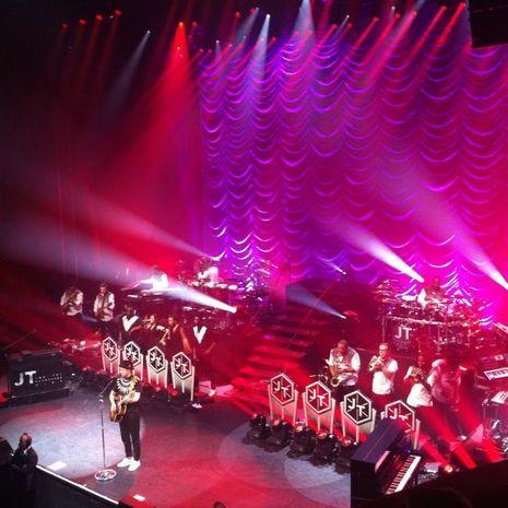 Justin Timberlake à l'Olympia
