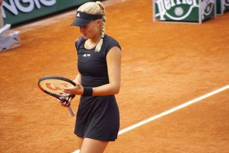 Kristina Mladenovic, ce mardi.