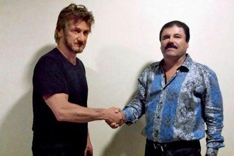 L'acteur et le fugitif. Sean Penn et El Chapo