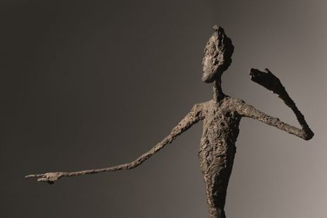 "L'homme au doigt"", d'Alberto Giacometti"