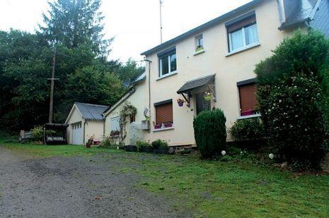 La maison de Gal Vallerius à Plusquellec, dans les Côtes-d'Armor, où vit encore sa femme.