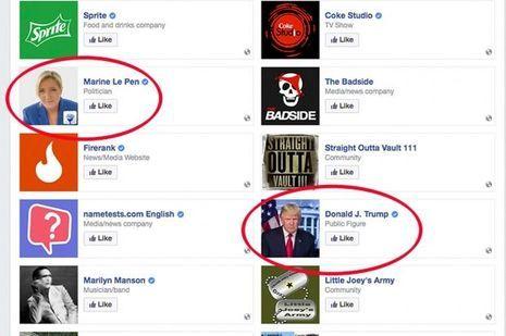 La page Facebook a été supprimée.