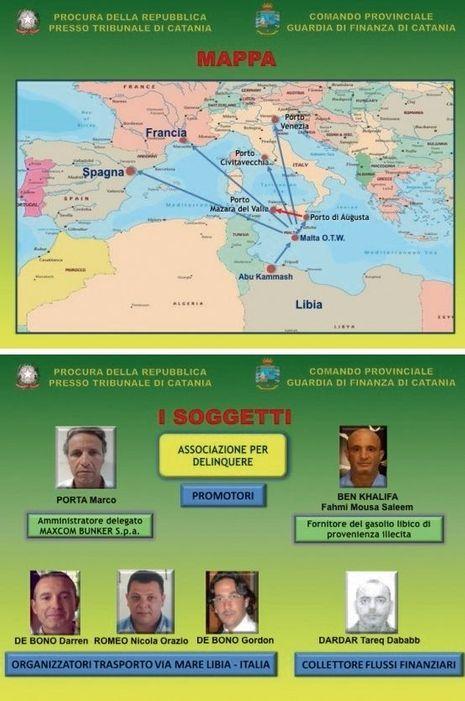La route du pétrole