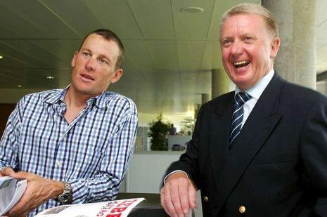 Lance Armstrong et Hein Verbruggen