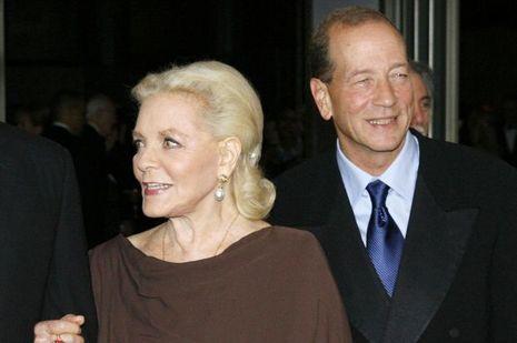 Lauren Bacall et Stephen Bogart en 2009.