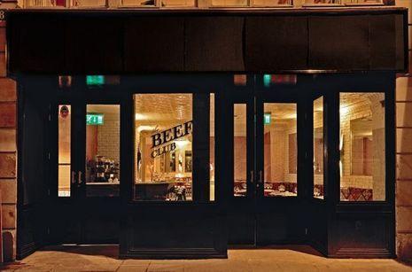 Le Beef Club, steak house bar à cocktails