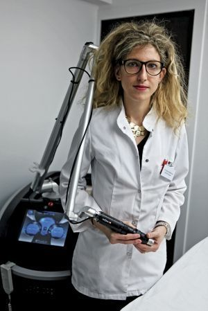 Le Dr Marie Jourdan, dermatologue et le laser Pico Sure