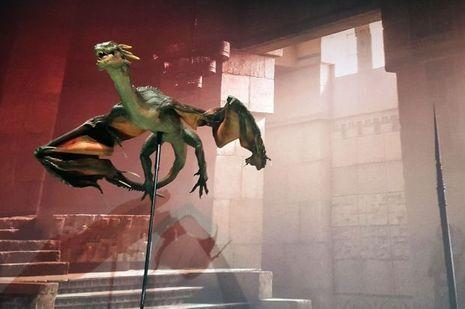 Le dragon de Khaleesi, presque réel.