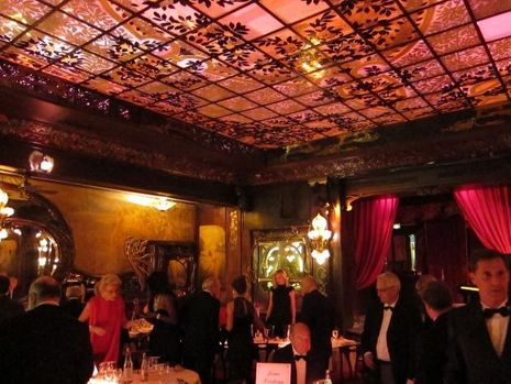 Le restaurant Art Nouveau-