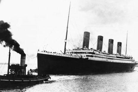 Le Titanic, en 1912