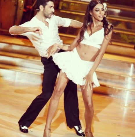 Lea T dans le Danse avec les stars italien