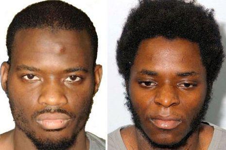 Michael Adebolajo et Michael Adebowale, les deux tueurs de Lee Rigby.