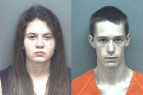 Les deux étudiants soupçonnés du meurtre de l'adolescente.