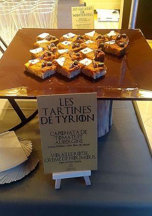 Les fameuses tartines de Tyrion