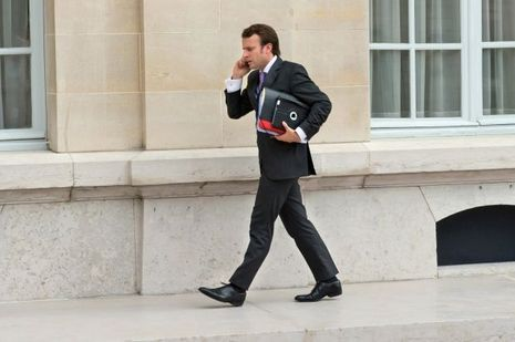 Emmanuel Macron, ici en octobre 2012